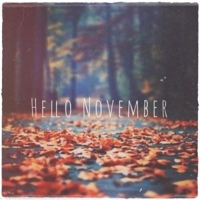 hello november 1