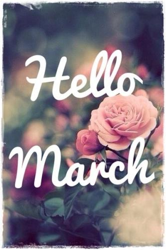 hello march 1